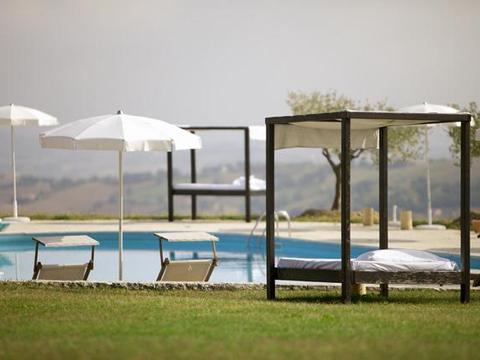Bilder von Mer Adriatique Appartement del_Miglio_Verde_Arcevia_15_Pool