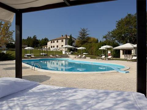 Bilder von Mer Adriatique Appartement del_Miglio_Verde_Arcevia_16_Pool