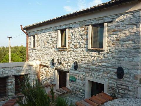 Bilder von Mer Adriatique Appartement del_Miglio_Verde_Arcevia_55_Haus