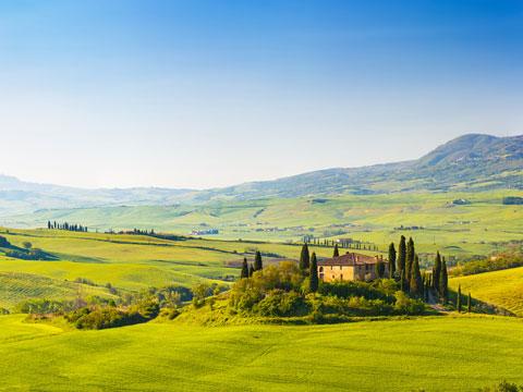 Bild von Toskana Region