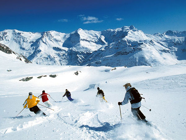 Bild von Wintersport in Italien Ferienhaus