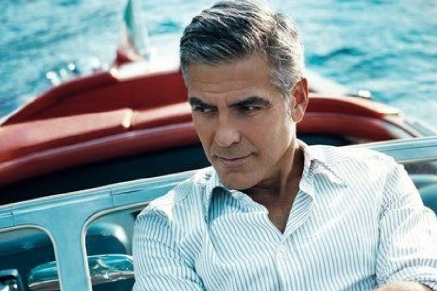 Clooney's holiday on Lake Como